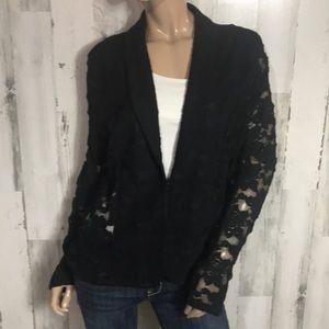 Beautiful lace Blazer Suit Top Jacket